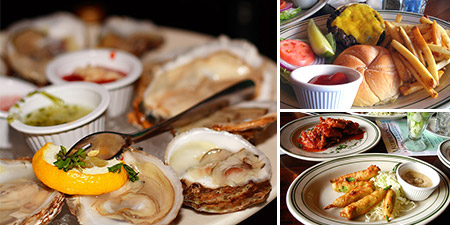 Happy Hour: Big Fish oysters and food from McCormick and Schmick's