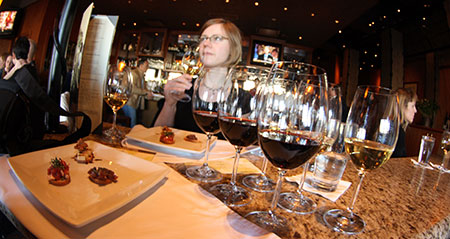 Wine Tasting Wednesday at the Napa Valley Grille