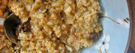 Vegan Pumpkin Oatmeal