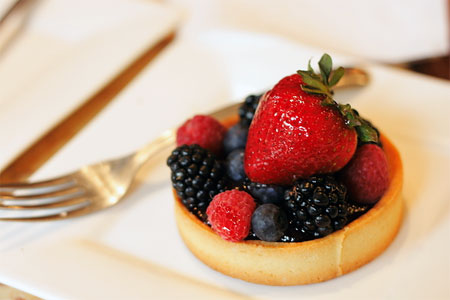 Berry tart from Pasticceria Bruno