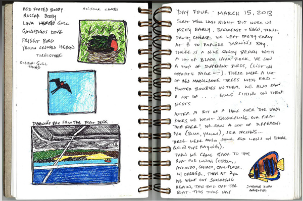 galapagos journal